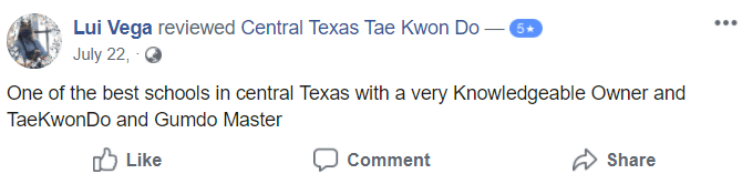 Adult2, Central Texas Tae Kwon Do Temple